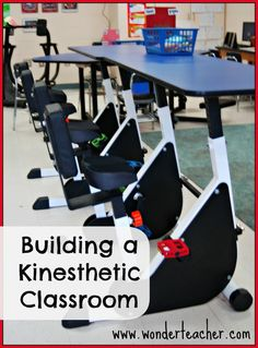 Building a Kinesthetic Classroom (Part 2)- Great info that shares how one teacher worked with her class to raise money to outfit her room with kinesthetic learning centers.