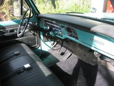 1968 Ford Ranger F250 dashboard - Google Search