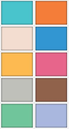 colors for summer 2012!