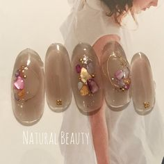 Nail Inspo, Hair Makeup, Nail Designs, Pearl Earrings, Nails, Manicure Ideas, Jewelry, Claws, Instagram