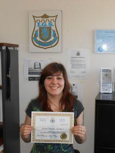 J'ai obtenu mon Diplôme d'agent de Gardiennage suite à ma Formation d'agent de sécurité à L'Académie I.G.S.