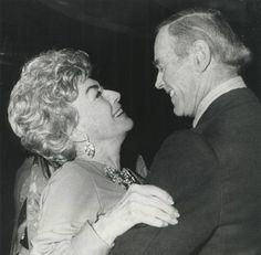 9/23/74. At the Rainbow Room with Henry Fonda.
