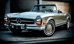 Merc 230SL. IS there a better looking Merc?