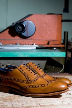 Barker Grant is a modern twist on a traditional full English brogue, and one of the most popular styles in the Creative Collection. #barker #barkergrant #barkercreativecollection #robinsonsshoes #oxfordbrogues Oxford Brogues, Oxford Shoes, Goodyear Welt, Up Styles, Perfect Match, Robin, Dress Shoes, Lace Up, English