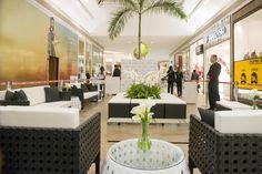 Evento inauguração loja Swarovski no Shopping Catuaí, em Londrina.  Organização: Atmosfera Eventos Mobiliário: Mestre Eventos