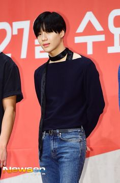 Taemin at the MNET 'Hit The Stage' Press Conference