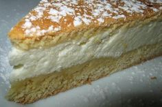 Helenčin křehký koláč | jitulciny-recepty.cz Vanilla Cake, Nutella, Sweet Tooth, Cheesecake, Good Food, Pie, Treats, Bakken, Torte