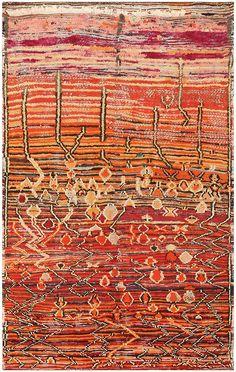 Colorful Vintage Moroccan Rug 48348 Main Image - By Nazmiyal