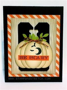 Trendy White Pumpkin by Pammyjo - Cards and Paper Crafts at Splitcoaststampers