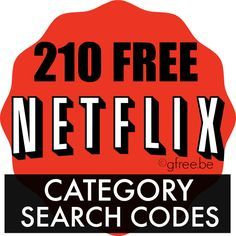 210 Netflix Hidden Categories List | Search and Watch by Subject - http://gimmiefreebies.com/topic/netflix-hidden-category-list-search-and-watch-by-subject/