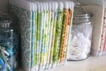 organize your fabric.