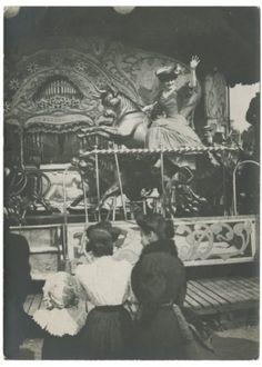 Fête foraine à Paris, 1906