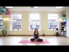 20 Minute Post Natal Yoga Class - YouTube
