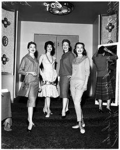 Fashion show at Ambassador Hotel, 1958 :: Los Angeles Examiner Collection, 1920-1961