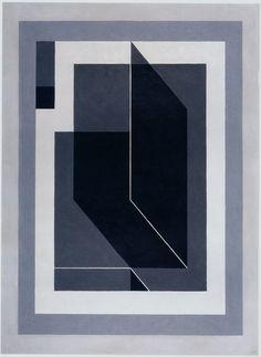 Josef Albers - Bent Black (A), 1940