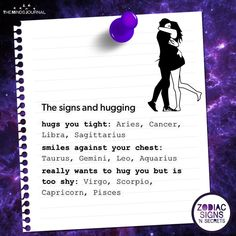 I'm quite shy to hug so true stuff Zodiac Signs Chart, Zodiac Sign Traits, Zodiac Star Signs, My Zodiac Sign, Zodiac Quotes, Zodiac Signs Sagittarius, Horoscope Signs, Zodiac Horoscope, Astrology Signs