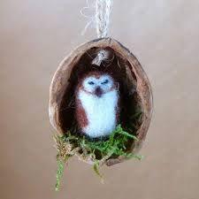 Bildergebnis für needle felted walnuts