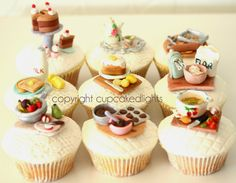 #1950s Inspired Cupcakes by cupcake d'lights {South Africa}