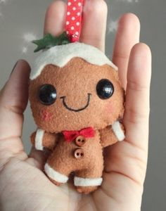 CUTE!!! I make felt puppets for my webshop and immediately got inspired when I saw this adorable fellow.