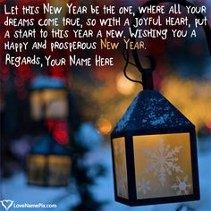 Use 2020 happy new year wishes with name editing to surprise friends.Write name on New Year wishes and greetings images with best online generator. Page 1 New Year Wishes Cards, Best New Year Wishes, New Year Wishes Images, New Year Wishes Quotes, New Year Pictures, Happy New Year Quotes, New Year Images, Name Pictures, Happy New Year Greetings