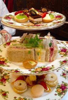 pictures of the year: tea food