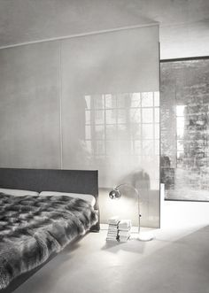 #interior design #bedroom #style #modern #luxury - Usor - love the sheer partitions