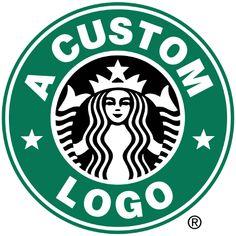 Make a customized logo for popular brands!