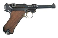 This is a Mauser-made commercial contract Luger marked and delivered to the… Luger Pistol, Revolvers, Mechanical Art, Top Gun, Survival Tools, Guns And Ammo, Dieselpunk, Tactical Gear, Cigars