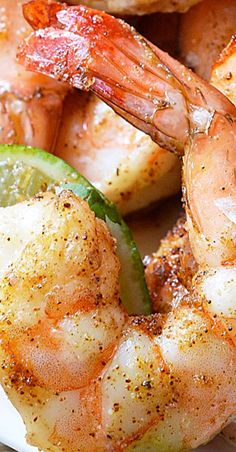 For punch in the face flavor, make these Cilantro Lime Spicy Baked Shrimp! This recipe is compliant, healthy, nutritious and delicious! Baked Shrimp Recipes, Best Seafood Recipes, Lobster Recipes, Fish Recipes, Seafood Meals, Recipies, Cilantro Lime Shrimp, Cooking Recipes, Recipes