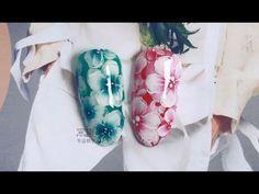 【Watch nail Teach Me-807th phase】Elegant Lace Flowers【窝趣美甲你求窝教 第807期】优雅蕾丝花 - YouTube