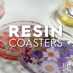 If you've never worked with resin before, now's the time! It's easy to use, and there's truly no limit to what you can make with the clear substance. To make your own set of coasters, all you need is a round silicone mold, resin mixture, and dried flowers. We'll show you how to mix and pour the resin so that the flowers are perfectly suspended in the middle of the clear coasters. #resincrafts #resin #resincoasters #howtouseresin #howtomixresin #resinideas #bhg