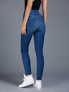 Levi's Mile High Super Skinny from Free People!