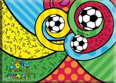 Romero Britto Pablo Picasso, Pop Art, Going For Gold, Graffiti Painting, Famous Art, Kits For Kids, Art Club, Mixed Media Art, Art Lessons