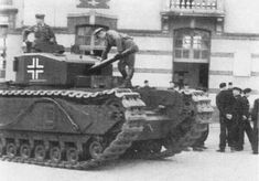 Image Heavy. Beutepanzer, How Germany Relied on Captured Military Vehicles