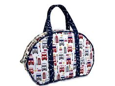 British London Travel Bag Carry-on Luggage  Day by SwingCoat