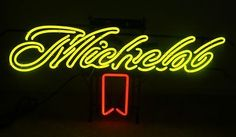 Michelob Beer Bar Classic Neon Light Sign 19x10