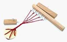 Leonardo Rope Maker and Yarn Twister, Multi-Craft Equipment - Halcyon Yarn How To Make Tassels, How To Make Rope, Rope Maker, Vintage Suitcases, Loom Weaving, Craft Materials, Basket Weaving, Clothes Hanger, Crafts To Make