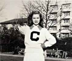 Vintage 1940s/1950s Cheerleader Postcard  Gimme by msjeannieology, $7.50