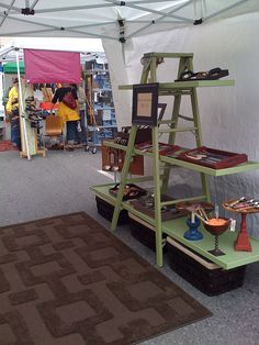 Ladder Display. What a great and useful idea!