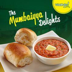 #PavBhaji and #VadaPao- two gifts from #Mumbai that we love! #Vaango