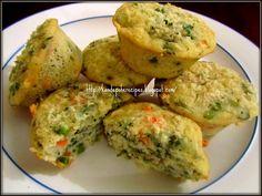 Spicy-Aroma: Savory semolina muffins