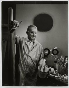 Adolph Gottlieb became a major exponent of Abstract Expressionism whose painting style is linked to Marc Rothko, Clyfford Still and Barnet Newman. Famous Artists, Great Artists, Artist Art, Artist At Work, Tracey Emin, Picasso Paintings, Art Paintings, Frank Stella, Jasper Johns