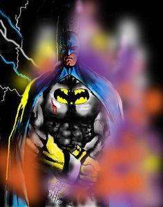 The Batman Comic Art