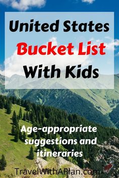 Looking for a do-able United States bucket list to do as a family before your kids finish high-school? Get these great family travel bucket list ideas and best vacation ideas that include actual itineraries. Best Family Vacations, Family Vacation Destinations, Family Travel, Travel Destinations, Vacation Ideas, Vacation Travel, Vacation Games, Texas Travel, Travel Goals