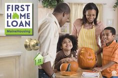 Want someplace to show off your jack-o-lantern? Visit MaineHousing.org/HomeLoan to learn about our #FirstHomeLoan. You could get $3,500 towards closing!