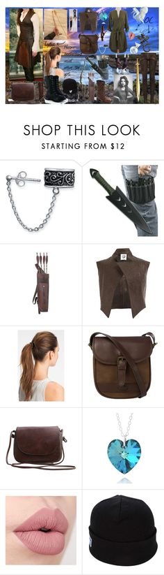 """""""#brotherband. girls usual outfit. (lydia+OC)"""" by ronnie-555 on Polyvore featuring Bling Jewelry, Donna Karan, INC International Concepts, Aganovich, L. Erickson, DUBARRY and Keds"""