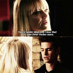 The Amazing Spider-Man 2, Gwen Stacy & Peter Parker