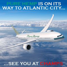 Team #PureHemp Is In #AtlanticCity At The #ChampsTradeShow For The Next Couple Of Days. Stop By Say Hi, We Will Be In Booth 408