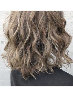 Wavy Curls, Curls For Long Hair, Big Curls, Medium Length Wavy Hair, Short Wavy Hair, Short Hair Styles, Big Curl Perm, Digital Perm, Permed Hairstyles