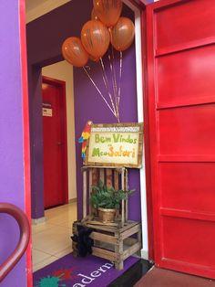 Entrada Festa Infantil com tema Safari